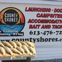 Opening of Walleye Fishing and Camping Season