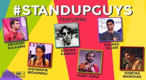 Stand Up Guys ft Aishwariya Raunaq Punit Shahan Shreyas Abhishek