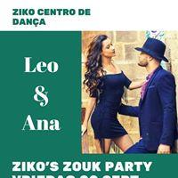 Zikos Zouk Party met Leo &amp Ana