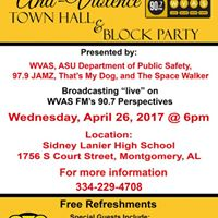 Citywide Anti-Violence Town HallBlock Party April 26