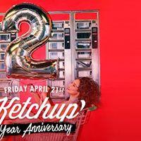 Ketchup x 2 Year anniversary x AIR Amsterdam