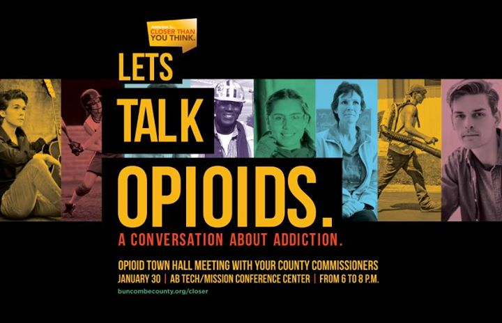 Opioid Town Hall w Commissioners