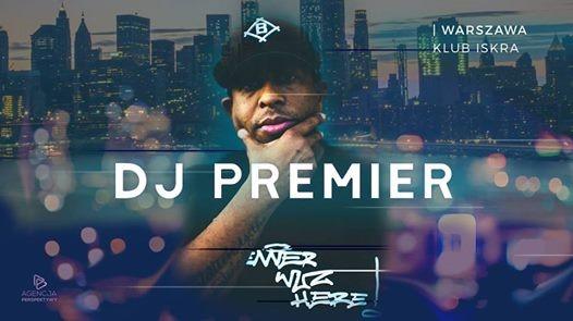 DJ Premier  07.07.2018  Iskra Warszawa