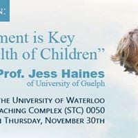Father Involvement Seminar Jess Haines of University of Guelph