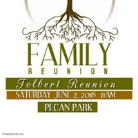 Tolbert Family Reunion