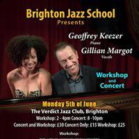 Geoffrey Keezer and Gillian Margot Workshop and Concert