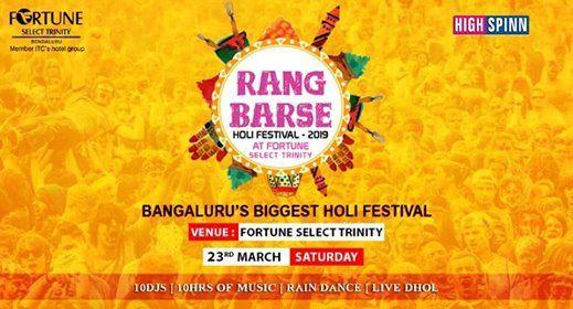 Rang Barse - Bangalore biggest Holi Festival