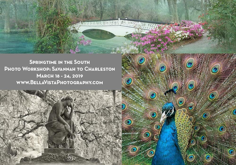 Travel Photography Workshop Springtime in the South