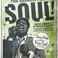 The Search For Soul Wrap Party and Rare Soul Night
