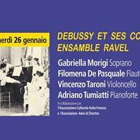 Debussy et ses copains - Ensemble Ravel
