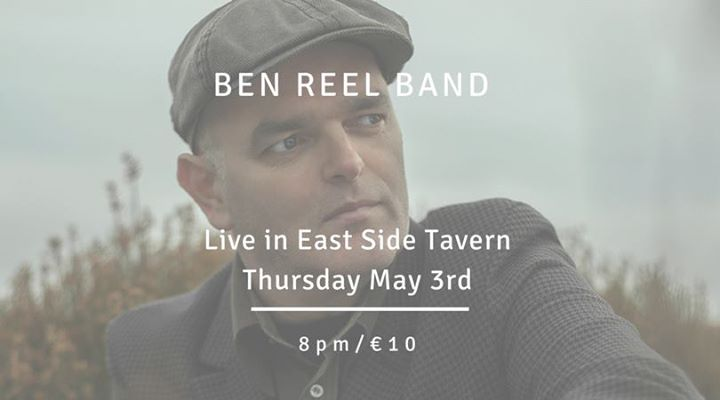 Ben Reel live with his band East Side Tavern