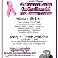 10th Annual Whitewood Ladies Curling Bonspiel for Breast Cancer
