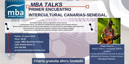 Primer encuentro intercultural Senegal - Canarias.
