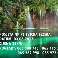 Posjeta NP Plitvicka jezera