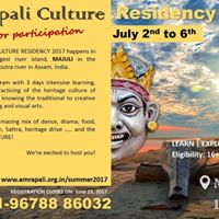 Amrapali Culture Residency 2017