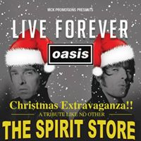 Wed 27th Dec Live Forever SOLD OUT