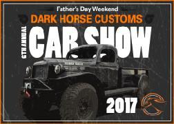 Th Annual Dark Horse Customs Car Show Bozeman - Dark horse customs car show