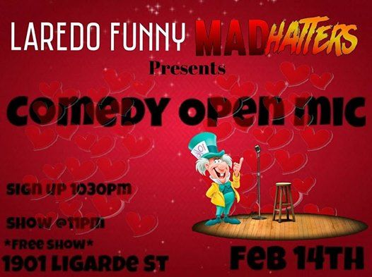 LaredoFunny Comedy Open Mic