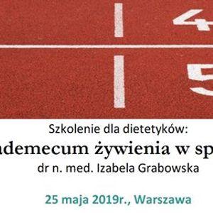 Vademecum ywienia w sporcie  dla dietetyka