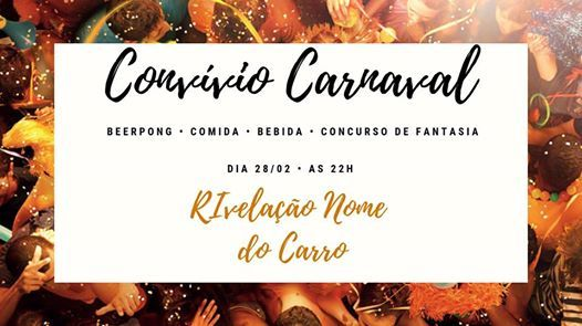 Convvio de Carnaval  RIvelao