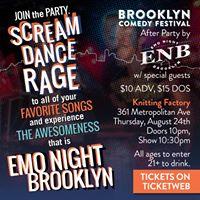 Brooklyn Comedy Festival After Party by Emo Night Brooklyn