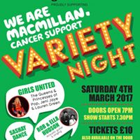Macmillan Variety Night