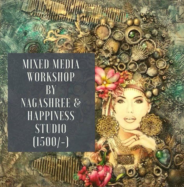 Mixed Media Workshop (with Brunch)