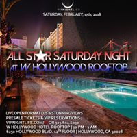 All-Star Weekend W Rooftop Party
