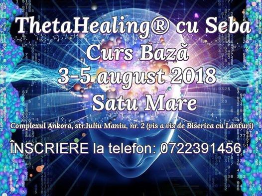 ThetaHealing Curs de Baz Satu Mare