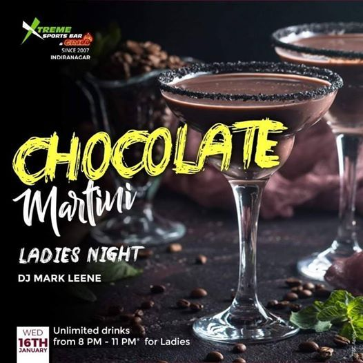 Chocolate Martini Ladies Night