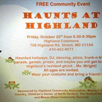 Haunts at Highland (FREE)