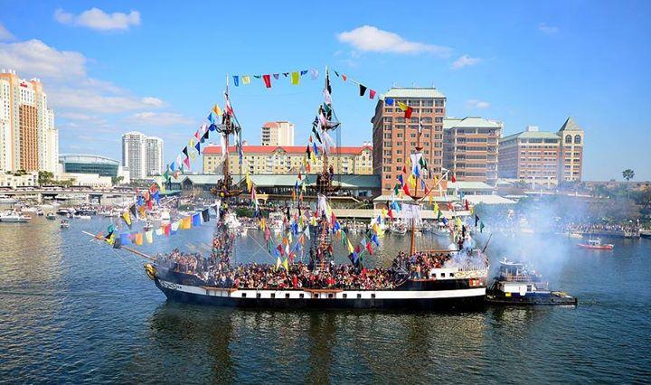 2019 Gasparilla Pirate Parade & Festival