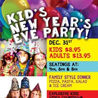 Kids New Years Eve Party