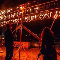 Burning Haiku workshop for Roskilde Light Festival