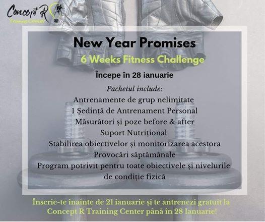 New Year Promises - 6 Week Challenge