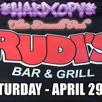 Hardcopy - Live at Rudis Sports Bar &amp Grill