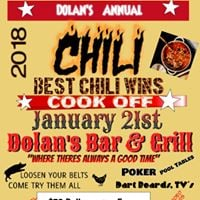 Chili Cook Off at Dolans Bar &amp Grill 1-21-18