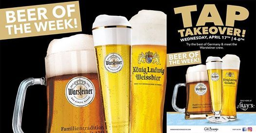 Warsteiner Tap Takeover at Lillys Craft and Kitchen