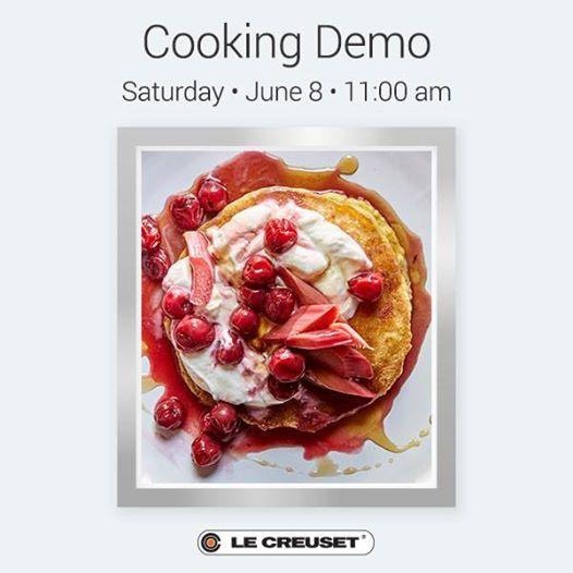Cooking Demo at Le Creuset Miromar Outlets | Estero