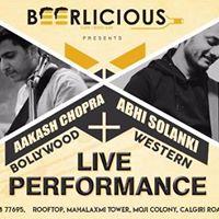 Live Music Night by Abhi Solanki &amp Aakash Chopra
