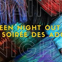 Teen Night Out  Paint Night - Soire des ados