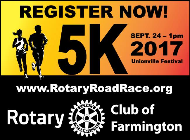 Image result for farmington rotary 5K 2017