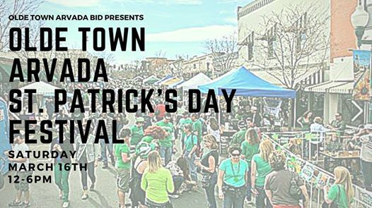 Olde Town Arvada St. Patricks Day Festival