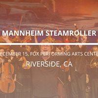 Mannheim Steamroller in Riverside