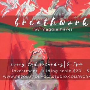 Breathwork w Maggie Hayes