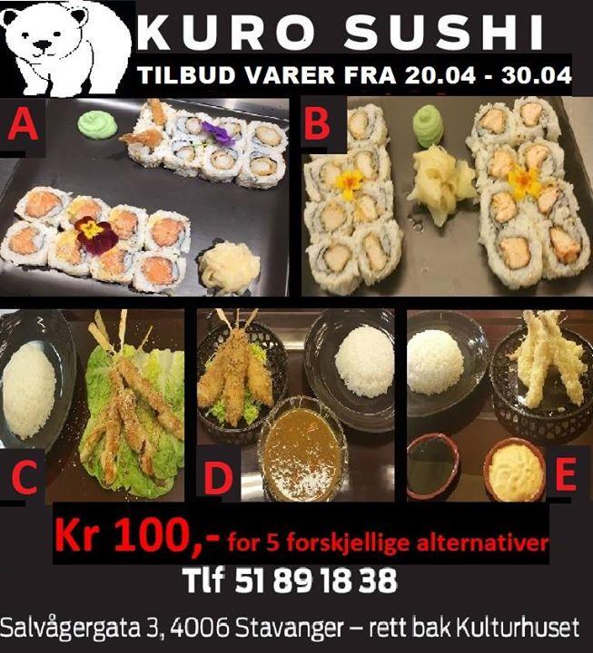 sushi tilbud