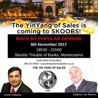 The YinYang of Sales is coming to Skoobs