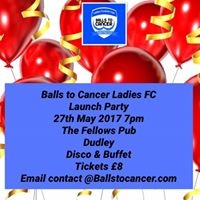 Balls to Cancer Ladies FC kit launch