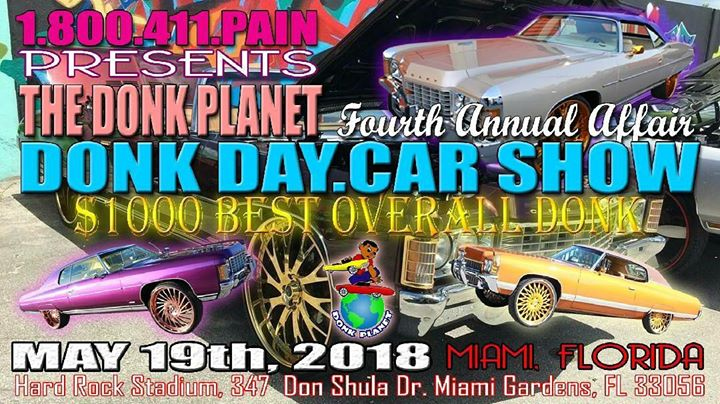 Donk Day Car Show At Miami FL Miami - Donk car show