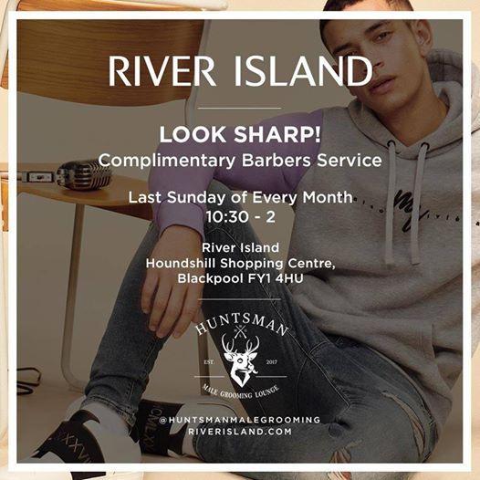 Free Barbershop at River Island Blackpool